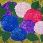 """Colorful Hydrangea"" by elajanus"