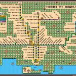 """Toronto TTC Subway/RT Map Mario 3"" by originaldave77"