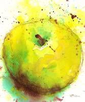 Green Apple Modern Fine Art Print