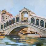 """Rialto Bridge"" by painterflipper"