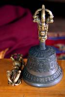 Bell and Vajra Pisang Monastery