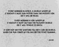 Lion and the Gazelle