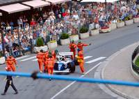 Damon Hill's Williams-Renault at Monaco