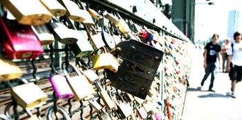 Hohenzollern Bridge Cologne Lovelocks 2