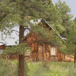 """Log Cabin in the Pines"" by anniepics"