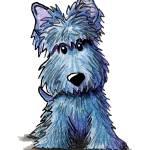 """""""K9 Keanu Scottie Terrier"""" by KiniArt"""