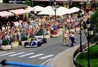 Damon Hill's Williams at Monaco