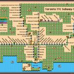 """Toronto TTC Subway Map Super Mario 3"" by originaldave77"