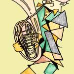 """The Wagner Tuba Player"" by Polylerus"