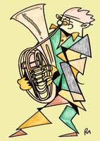 The Wagner Tuba Player