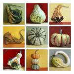"""Gourd Series"" by tinamalonis"