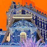 """My Vegas Paris 1"" by RandallWeidner"