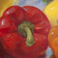 Red Pepper Art Prints & Posters by Tina Malonis