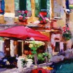 """Venice Bistro"" by jacquelinebrewerart"