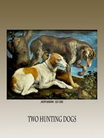 Two Hunting Dogs by Jacopo Bassano 1548