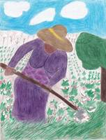 Chopping Cotton