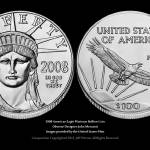 """2008 American Eagle Platinum Bullion Coin"" by SouthIdahoPhoto"