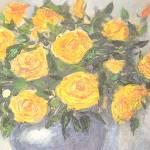 """""""Flowers in a Vase"""" by KrugerArtStudio"""