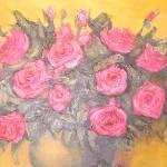 """Pink Roses 11"" by KrugerArtStudio"