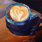 """Latte Art"" by jacquelinebrewerart"