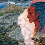 """Moses and Aaron (1971)"" by matiklarwein"