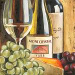"""""""Wine and Cheese 1"""" by DebbieDeWitt"""
