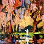 """Savannah Georgia Garden of Good and Evil"" by GinetteCallaway"