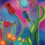 """Cosmic Garden"" by Christinebeth"