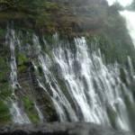 """Burney Falls, CA ferny side"" by JewelsOfDenile"