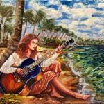"""Briny Blues"" by ArtlbyYelena"
