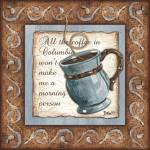 """Whimsical Coffee 1"" by DebbieDeWitt"