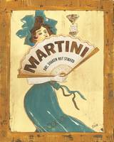 Martini Vintage French Poster