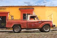 old truck during day