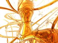Honey Abstract