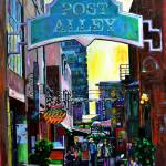 """Post Alley"" by sarahghanooni"