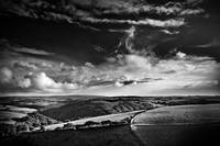 view over Exmoor