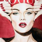 """Vogue. Vanessa Paradis"" by feelingartsy"