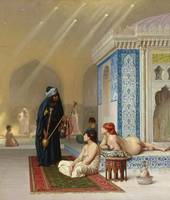 Pool in a Harem, c.1876 (oil on canvas)