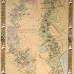 """Map depicting plantations on the Mississippi River"" by fineartmasters"