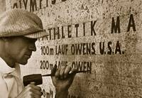 Carving the name of Jesse Owens into the champions
