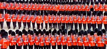 Coldstream Guards Marching