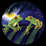 """treefrogs8x8"" by savanna"