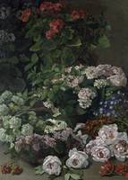 Spring Flowers, 1864 (oil on canvas)