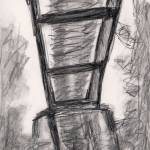 """railroad bridge sketch"" by DGardner"