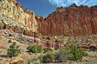 Capitol Reef Cliffs