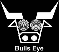 bulls-eye-black-background