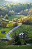 Country road, Floyd, Virginia
