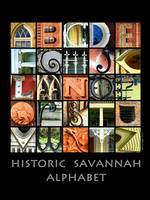 Savannah Alphabet Poster
