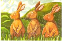 3 hares
