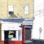"""""""Corner Storefront"""" by bnadalinart"""